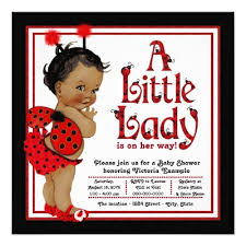 ladybug baby shower ladybug baby shower invitations zazzle