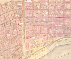 New Orleans Street Map by The Bowles Of Co Laois Ireland In New Orleans