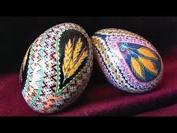 pysanky dye learn how to dye color easter eggs decorate ukrainian ukraine