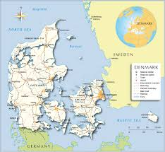 Northwestern Europe Map by Political Map Of Denmark Nations Online Project