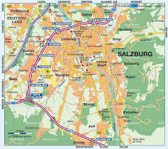 Austria Map Map Of Salzburg Austria Map In The Atlas Of The World World