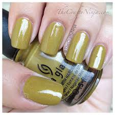 china glaze trendsetter and luxe and lush the crafty ninja