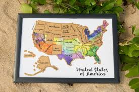 us map for sale s day sale scratch your travels usa map