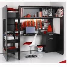 lit mezzanine avec bureau pour ado lit mezzanine pour adolescent en promotion meubles idées déco et