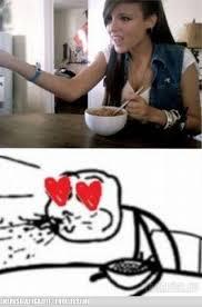 Cereal Girl Meme - new meme cereal girl meme by stormgrey memedroid