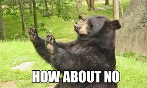 Nope Meme - bear catching salmon meme google search funny pinterest