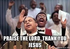 Thank You Jesus Meme - praise the lord thank you jesus black preacher meme meme