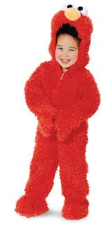 toddler costume sesame elmo plush deluxe toddler costume buycostumes