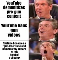 Memes Youtube - art m on twitter ok i found some of these youtube shooting memes