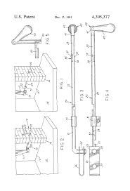 patent us4305377 operating mechanism for fireplace damper