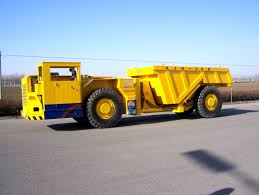 11 mpa braking underground utility vehicle load haul dump truck