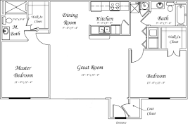 2 Bedroom Floor Plans by Townsend On The Park Apartments Gillespie Group