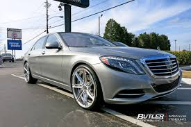 mercedes s class wheels mercedes s class with 22in savini sv58d wheels exclusively from