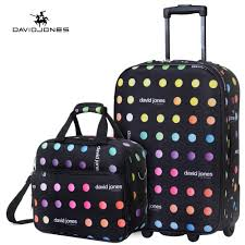 Alabama traveling suitcase images Davidjones 20 quot carry on luggage 13 39 39 make up case 2 pcs luggage jpg