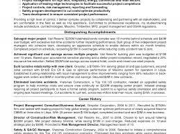 sample resume for food and beverage supervisor safety manager resume for construction virtren com pleasurable safety manager resume 9 safety manager resume resume