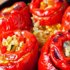 cuisiner les poivrons rouges recette poivrons rouges au quinoa