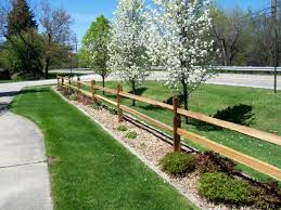 front yard split rail fence pinterest front yards yards and