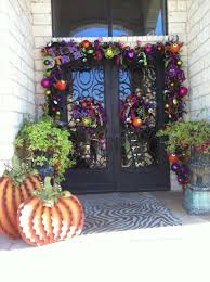 halloween garlands bows show me decorating
