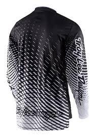 white motocross gear 2017 troy lee designs tremor tld mx gp motocross jersey black