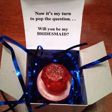 ring pop bridesmaid invite 13 creative ways to say will you be my bridesmaid ahava weddings