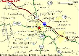 crossville tn crossvilleonline maps of crossville tennessee