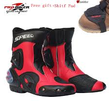 red dirt bike boots compare prices on mens motorcycle racing boots online shopping