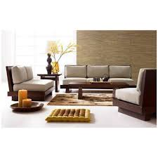 Single Seater Couch For Sale Induscraft Sheesham Wood 5 Seater Sofa Set Sofas Homeshop18