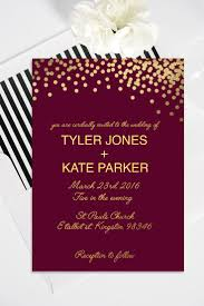 meaning of rsvp in invitation card gold polka dot wedding invitation with rsvp card modern gold