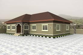 bungalow home nigerian house design best designs plans houses home plans