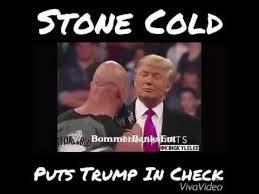 Stone Cold Meme - stone cold puts donald trump on check youtube