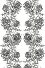 timorous beasties fabric thistle fabric prints patterns