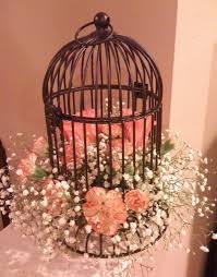 birdcage centerpieces birdcage decorating ideas card holder centerpiece candles