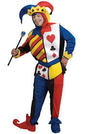 playing card joker costume purecostumes com
