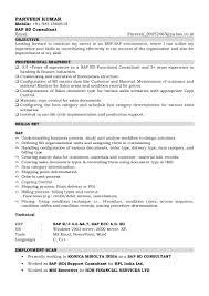 Sap Sd Resume For Freshers Sap Sd Resume Template Youtuf Com