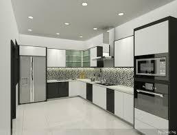 simple dry kitchen design