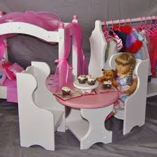 american doll table and chairs best american doll table products on wanelo