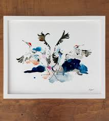 crane crest art print art prints u0026 posters betty hatchett