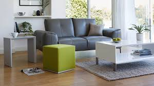 Grey Side Table Modern Multipurpose Side Table Set In Lime And Grey Uk