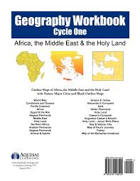 Blank Middle East Map by Geography Workbook Cycle One Africa Middle East U0026 The Holy Land