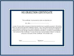no objection certificate india format beautiful no objection certificate for job contemporary resume