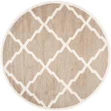 linon home decor cowhide beige and white 7 ft x 7 ft indoor area
