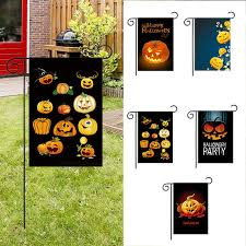 images of halloween garden flags trick or treat personalized