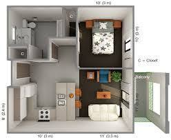 the 25 best one bedroom house plans ideas on pinterest 1