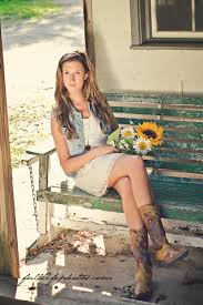 country vintage style chattanooga senior photography