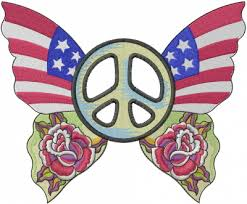 peace butterfly embroidery designs machine embroidery designs at