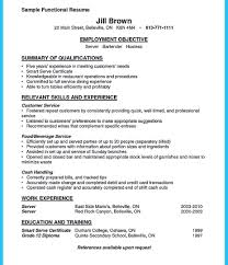 bartender resume templates bartender resume template no experience server cv uk