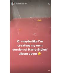 pink photo album harry styles album cover pink lush bath bob secret