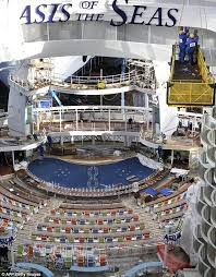 largest cruise ship in the world oasis of the seas inside the world u0027s largest and most expensive