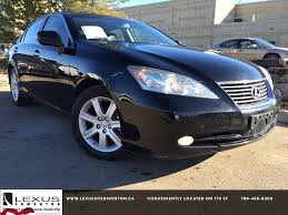 lexus 350 sedan used pre owned black 2007 lexus es 350 in depth review bonnyville