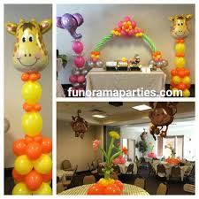 themed decorations 7 best jungle theme birthday party decorations images on